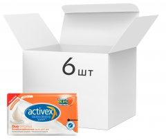 Упаковка антибактериального мыла Activex Duo Ориджинал 120 г х 6 шт (8690506511173)
