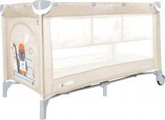 Кровать-манеж со вторым дном Carrello Piccolo+ CRL-9201/2 Cream Beige (158856)