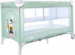 Кровать-манеж со вторым дном Carrello Piccolo+ CRL-9201/2 Cameo Green (158859)