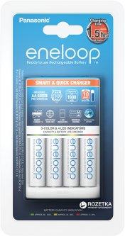 Зарядное устройство Panasonic Smart-Quick Charger + Eneloop 4AA 1900 mAh (K-KJ55MCC40E)