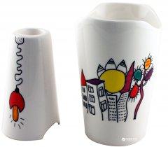 Набор из вазы и подсвечника BergHOFF декоративный (3705101)
