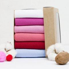 Набор носков Lapas 6P-210-009 35-37 (6 пар) Разноцветный (4820234208593)