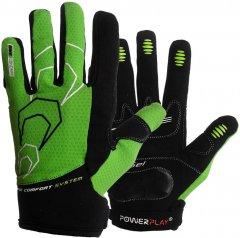 Велоперчатки PowerPlay 6556A XL Green (6556A_XL_Green)