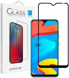 Защитное стекло ACCLAB Full Glue для Vivo Y1s/Y91 Black (1283126508981)