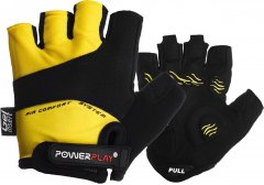 Велоперчатки PowerPlay 5013 M Yellow (5013_M_Yellow)