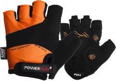 Велоперчатки PowerPlay 5013A L Orange (5013A_L_Orange)