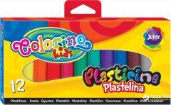 Пластилин Colorino 12 цветов 100 г (13291PTR)