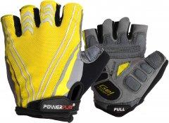 Велоперчатки PowerPlay 5007C L Yellow (5007C_L_Yellow)