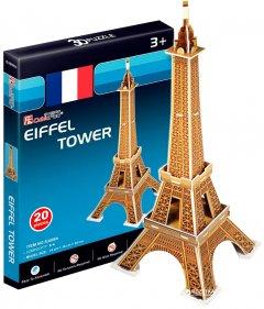 3D пазл CubicFun Эйфелева башня мини (S3006h)