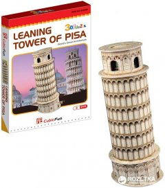 3D пазл CubicFun Пизанская башня мини (S3008h)