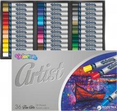 Пастель масляная Colorino Artist круглая в пластиковом контейнере 36 цветов (65726PTR)