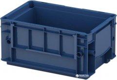 Ящик пластиковый для металлических деталей iPlast R-KLT 300х200х150 мм Темно синий (12.501.61)