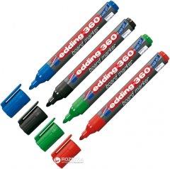 Набор маркеров для досок 4 шт Edding Board 1.5-3 мм (e-360/4/BL)
