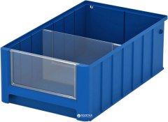 Контейнер полочный iPlast SK 4214 400х234х140 мм Синий (12.337.65.С50/1)