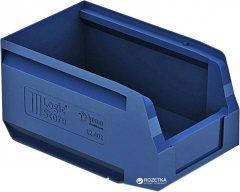 Пластиковый складской лоток iPlast Logic Store 250х150х130 мм Синий (12.402.61)