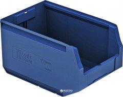 Пластиковый складской лоток iPlast Logic Store 350х225х200 мм Синий (12.404.61)