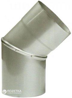 Дымоход Canada 45° ø150 мм нержавеющая сталь 0.6 мм (150КО45М304-06)