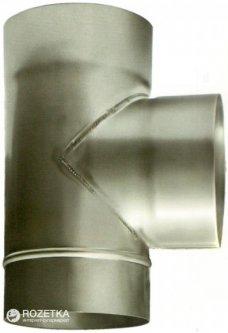 Дымоход Canada 87° ø180 мм нержавеющая сталь 0.6 мм (180ТК87М304-06)