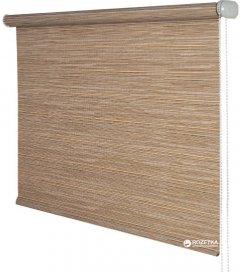 Ролета тканевая Деко-Сити Мини 48x170 см Бамбук коричневая (38842048170)