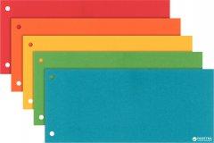 Картонные разделители-закладки Esselte 5 цветов 100 шт (624450)