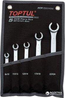 Набор ключей разрезных Toptul 8-24 мм 5 предметов (GPAQ0502)