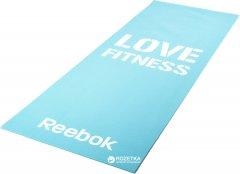 Коврик для фитнеса Reebok Love Fitness Blue (RAMT-11024BLL)
