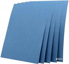 """Обложка для брошюрования картонная bindMARK Кантри A4 230 мкм """"под кожу"""" 100 шт Темно-синяя (20000417240)"""