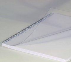 """Обложка для брошюрования пластиковая bindMARK Кристал A4 250 мкм """"прозрачая"""" 100 шт Прозрачная (20000401930)"""