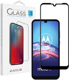 Защитное стекло ACCLAB Full Glue для Motorola Moto E6s Black (1283126509025)