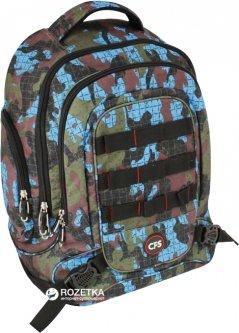 Рюкзак молодежный Cool For School 820 39 х 33 х 10 см Хаки (CF85849)