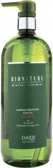 Шампунь для поврежденных волос Emmebi Italia BioNature Treated Hair Shampoo 1 л (8057158890153)