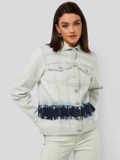 Джинсовая куртка NA-KD 1018-004516-0003 36 Голубая (88850000000174)