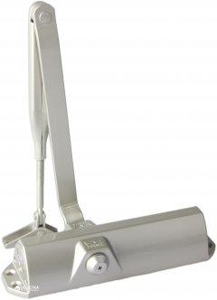 Дверной доводчик DORMA TS68 со стандартной тягой Серебристый (66400101)