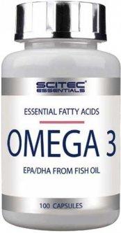 Жирные кислоты Scitec Nutrition Omega 3 100 капсул (5999100017498)