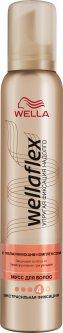 Мусс для волос Wella Wellaflex С увлажняющим комплексом Экстрасильная фиксация 200 мл (4056800012428)