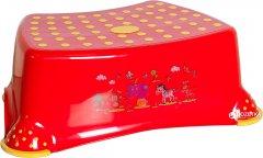Табурет детский Irak Plastik Step 30х25х15 см Красный (4839kmd)