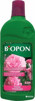 Удобрение жидкое BIOPON для роз 0.5 л (5904517062610)