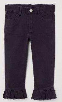 Капрі джинсові H&M 2711-6363327 122 см Темно-фіолетові (hm08446408982)