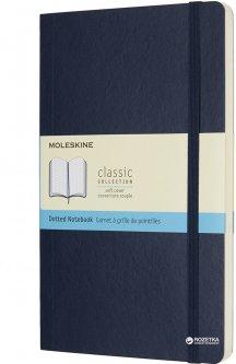 Записная книга Moleskine Classic 13 х 21 см 192 страницы в точку Сапфир Мягкая обложка (8055002854764)