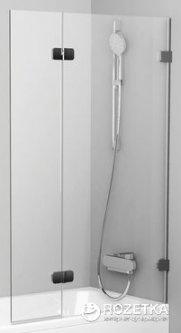 Шторка для ванны RAVAK BVS2-100 R хром Transp 7UPA0A00Z1 правосторонняя