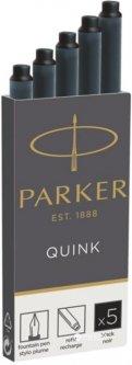 Чернильные картриджи Parker Quink 5 шт черные (11 410BK)