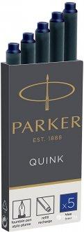 Чернильные картриджи Parker Quink 5 шт синие (11 410BLU)