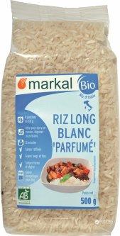 Рис Markal длиннозерный ароматный белый органический 500 г (3329485451204)