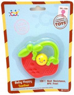 """Прорезыватель для зубов Huile Toys """"Яблочко"""" (919-4) (6944167191949)"""