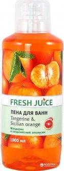 Пена для ванн Fresh Juice Tangerine & Sicilian Orange 1000 мл (4823015936326)
