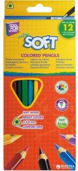 Карандаши цветные Cool For School Extra Soft 12 цветов (CF15143)