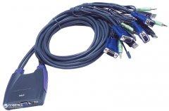KVM-переключатель ATEN CS64US-AT 4-портовый USB