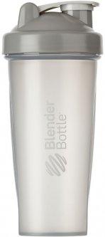 Шейкер BlenderBottle Classic с шариком 820 мл Серый (Classic 28oz Grey)