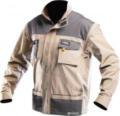 Куртка 2 в 1 NEO Tools L/52 Коричневая (81-310-L)