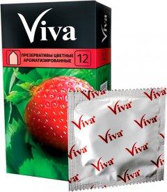 Презервативы Viva Цветные ароматизированные 12 шт (9556564081937)